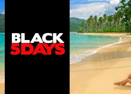 Black Friday Viagens é na Black Five Days do Zarpo!