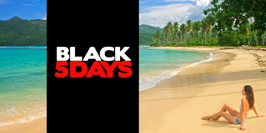 Black Friday Viagens é na Black Five Days do Zarpo!