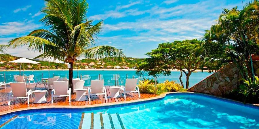 Ferradura Resort e Private: Búzios a dois ou a três, a quatro…