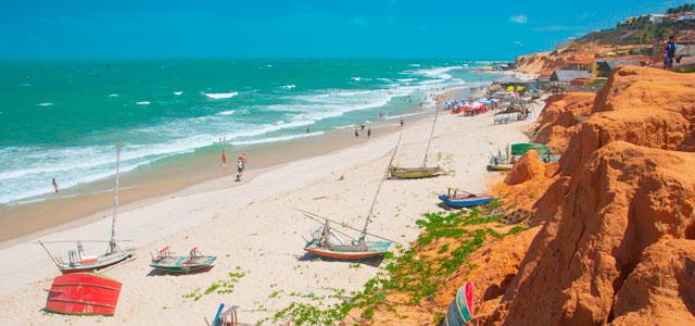 Ceará - Praia de Canoa Quebrada