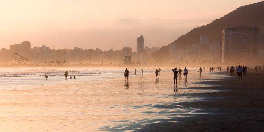 Nada de ficar parado na praia… Aqui tem muitas dicas de o que fazer em Santos!