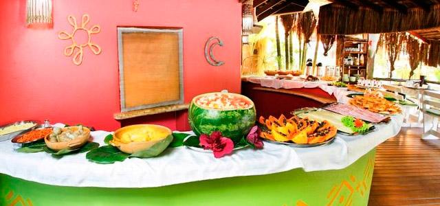 Pousada Villa N'Kara - Gastronomia