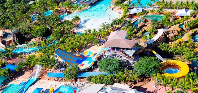 Muito lazer e diversão fazem parte da estada no Royal Thermas Resort