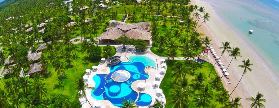 Os melhores resorts no Nordeste para curtir as mais lindas praias do Brasil