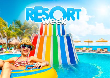 Quer uma viagem completa? Sua estada está na Resort Week!