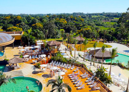 Diversão, lazer e sossego no Mabu Thermas Grand Resort