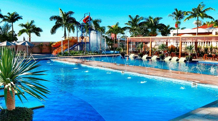 Área da piscina do Royal Palm Plaza Resort
