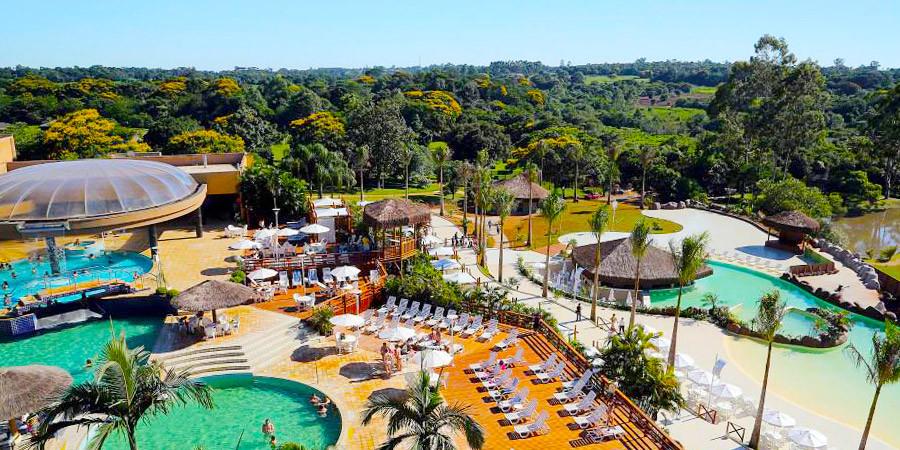 Diversão, lazer e sossego no Mabu Thermas Grand Resort