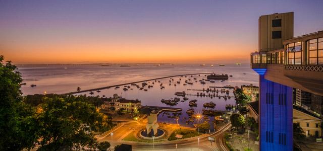 Elevador Lacerda - Salvador, BA - Pontos turísticos do Brasil