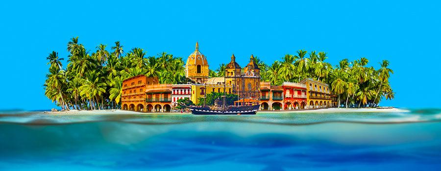 Viva Colômbia! O Caribe mais Perto com Tarifas Especiais!