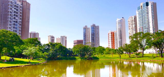 Os parque em Goiânia