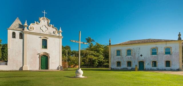 Centro histórico de Porto Seguro - Pontos turísticos do Brasil