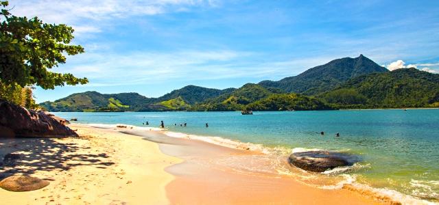 Praia de Antigos e Antiguinhos - Paraty