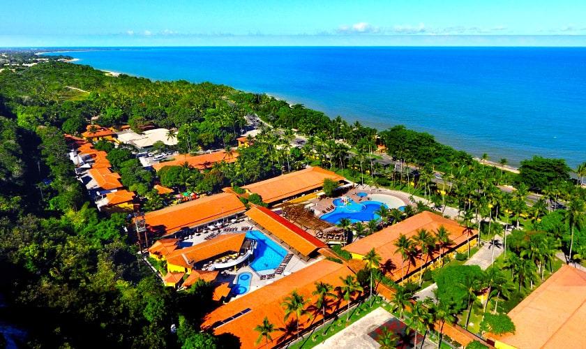 Foto área do Porto Seguro Praia Resort