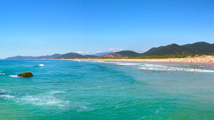 Joaquina - Florianópolis - Praias para surfar no Brasil