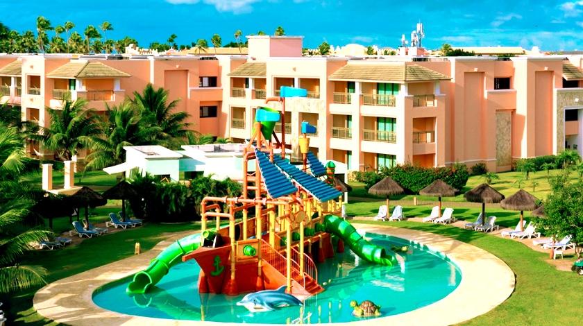 Barco Pirata, brinquedo aquático do luxuoso Iberostar Selection Praia do Forte