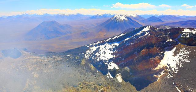 Vulcão de Llullaillaco - Salta