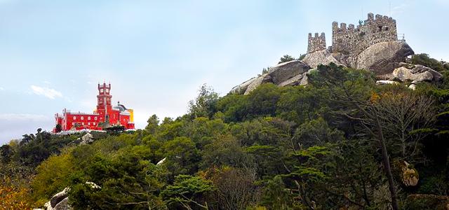 Castelo dos Mouros e Palácio da Pena - Portugal
