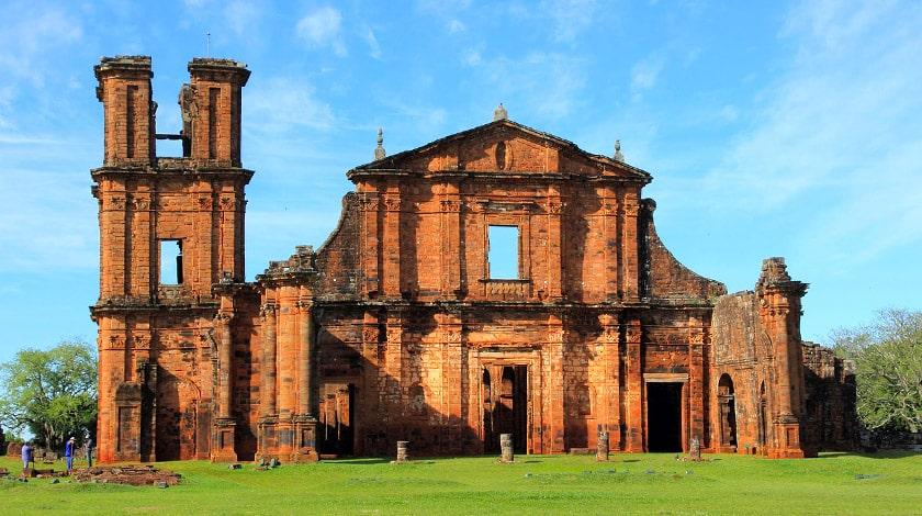 Sítio Arqueológico de São Miguel das Missões, no Rio Grande do Sul