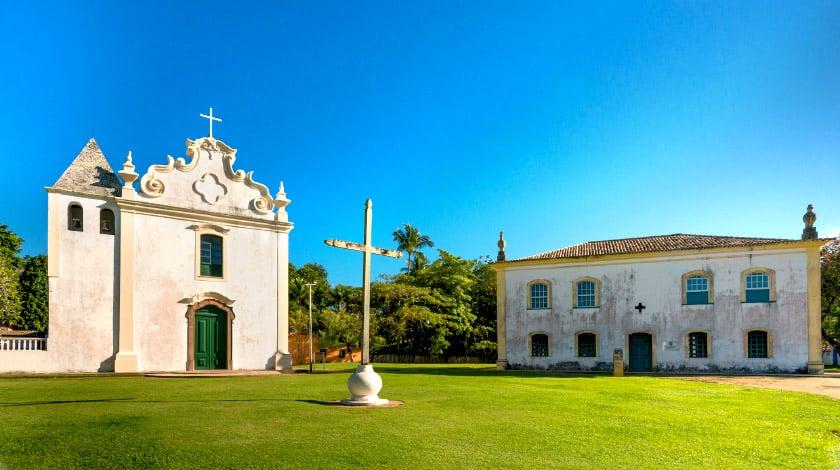 Centro Histórico de Porto Seguro - Bahia - pontos turísticos do Brasil
