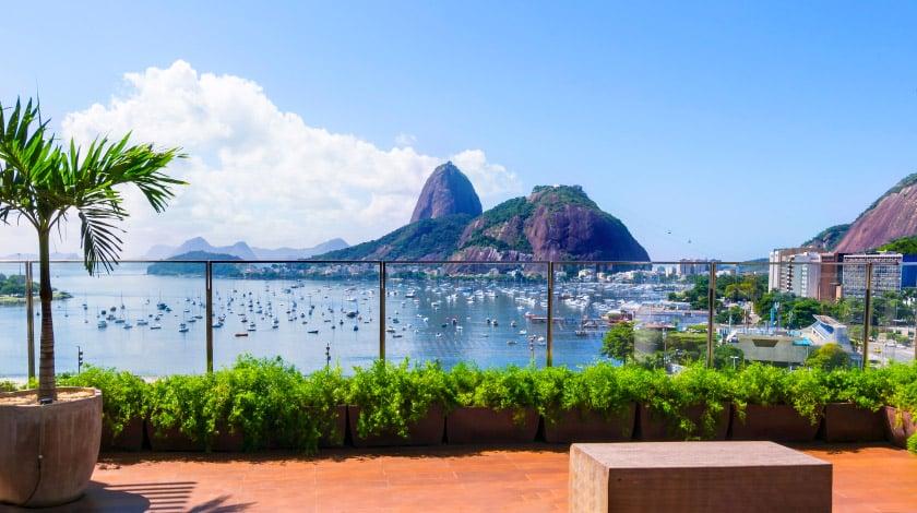 Pão de Açúcar, no Rio de Janeiro, um dos principais pontos turísticos do Brasil