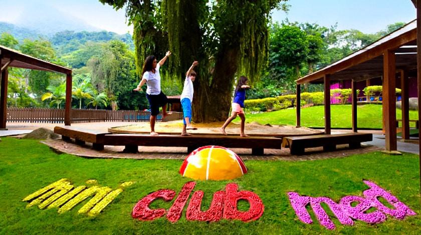 Mini Club Med do village em Mangaratiba, no Rio de Janeiro