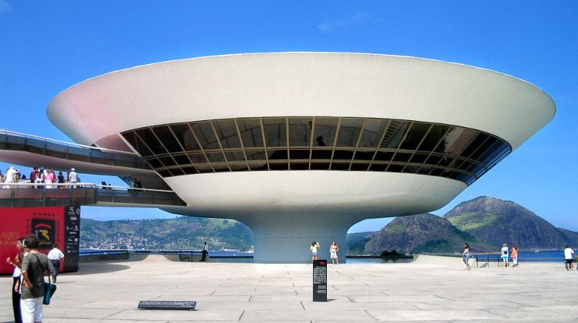 Museu de Arte Contemporânea Niterói - Rio de Janeiro - museu do Brasil