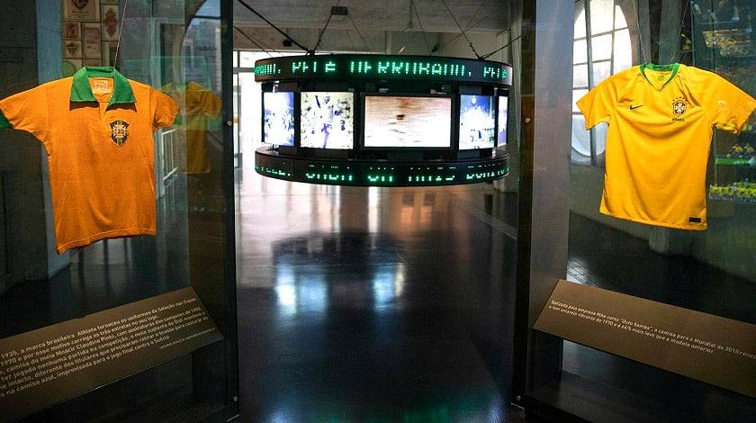 Museu do Futebol - São Paulo  - museu do Brasil