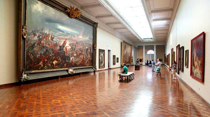 Museu Nacional de Belas Artes do Rio de Janeiro - museu do Brasil