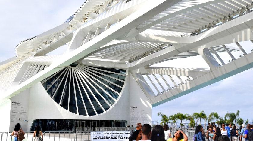 Museu do Amanhã - Rio de Janeiro  - museu do Brasil