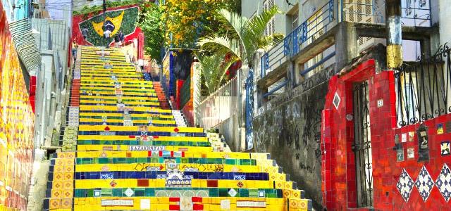 Escadaria Selarón - Rio de Janeiro