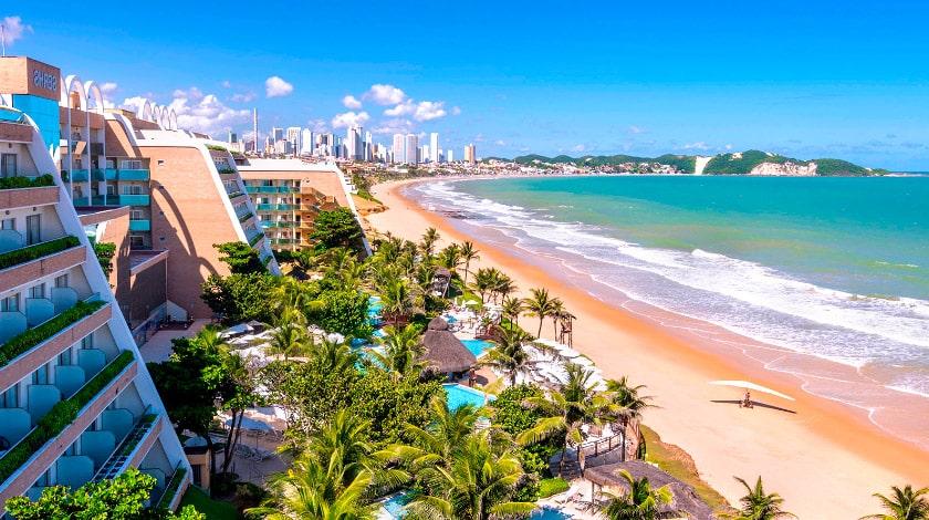 Localização à beira-mar do Serhs Natal Grand Hotel