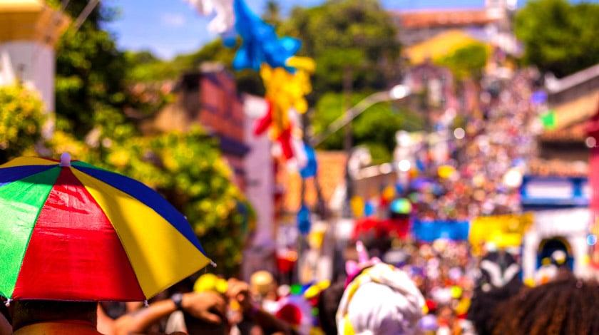 Carnaval de Olinda, em Pernambuco