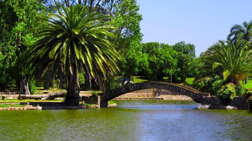 Parque Rodó - Montevidéu