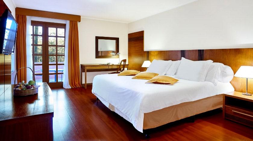 Hotel Villa Rossa - Acomodações
