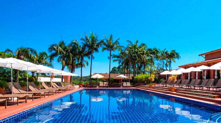 Piscina do Hotel Villa Rossa, em São Roque