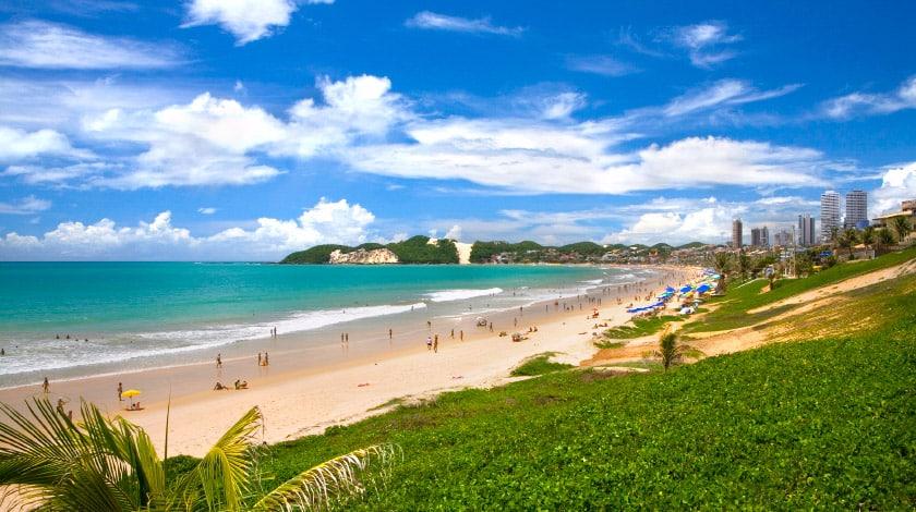 Rio Grande do Norte - Praia da Ponta Negra