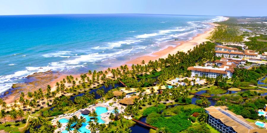 Vista geral do complexo Costa do Sauípe