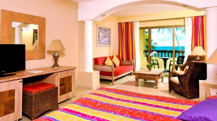 Quarto amplo do resort All-Inclusive Iberostar Bahia