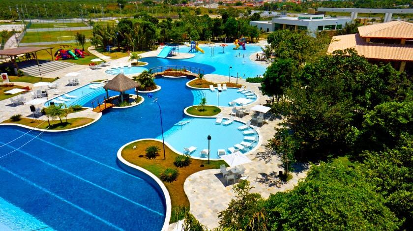 Piscinas do Iloa Resort, em Barra de São Miguel
