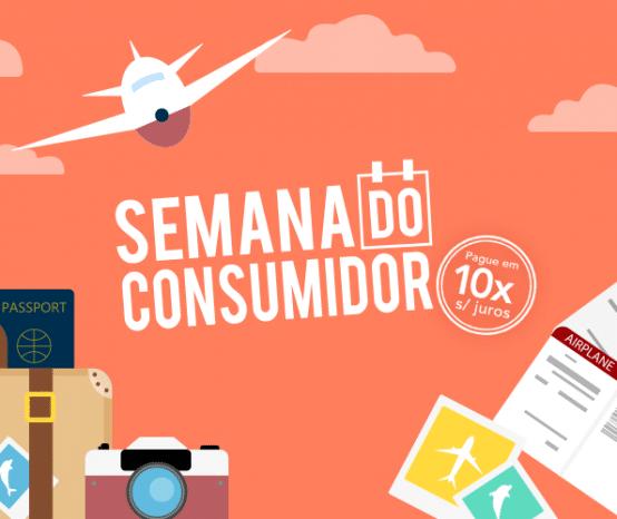Semana do Consumidor: Descontos exclusivos e 10x para pagar!