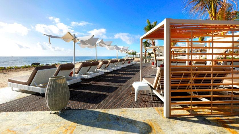 Área à beira-mar no TRS Yucatán