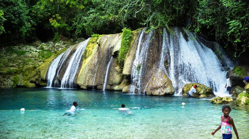 Island Gully Falls - Jamaica