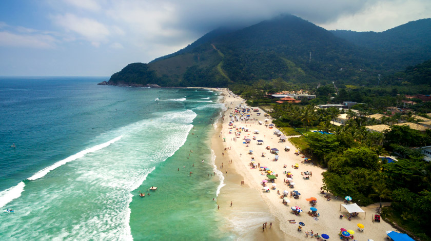 Maresias - São Sebastião - Praias para surfar no Brasil