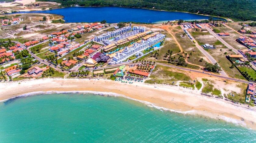 Vista aérea do Praia Bonita Resort, uma das ofertas do Zarpo para Páscoa