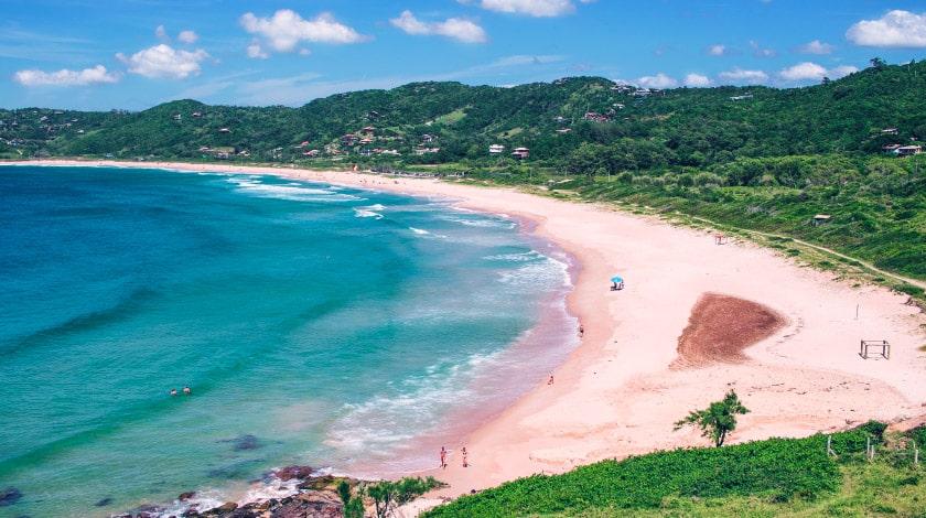 Praia do Silveira - Garopaba - Praias para surfar no Brasil