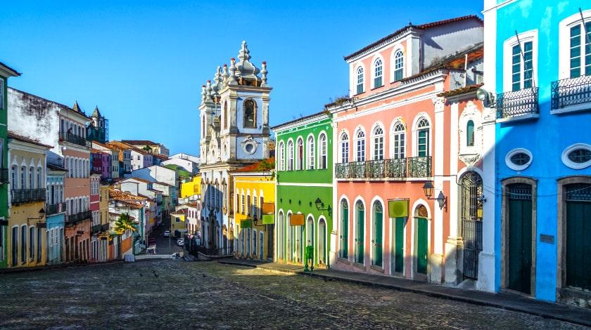 Pelourinho, em Salvador, Bahia, em promoção no Brasil do Zarpo