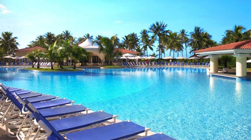 Piscina do Sauípe Resorts, com os descontos da Resort Week