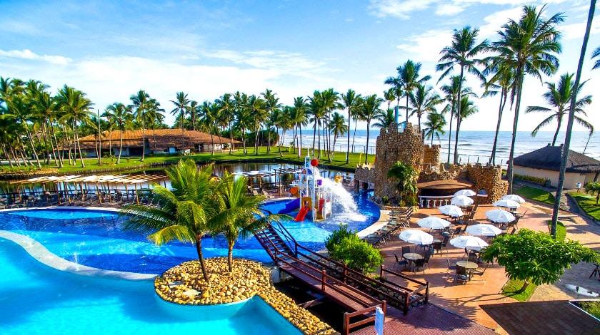 Piscinas Cana Brava Resort, à beira-mar de Ilhéus