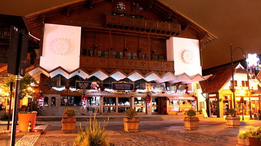 Fachada do Palácio dos Festivais